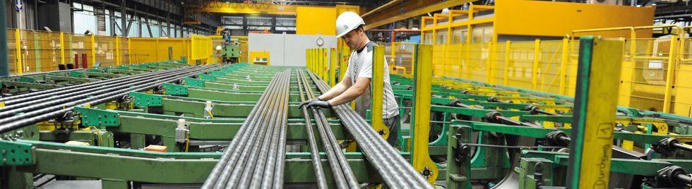 Fertigung von Stahlrohren